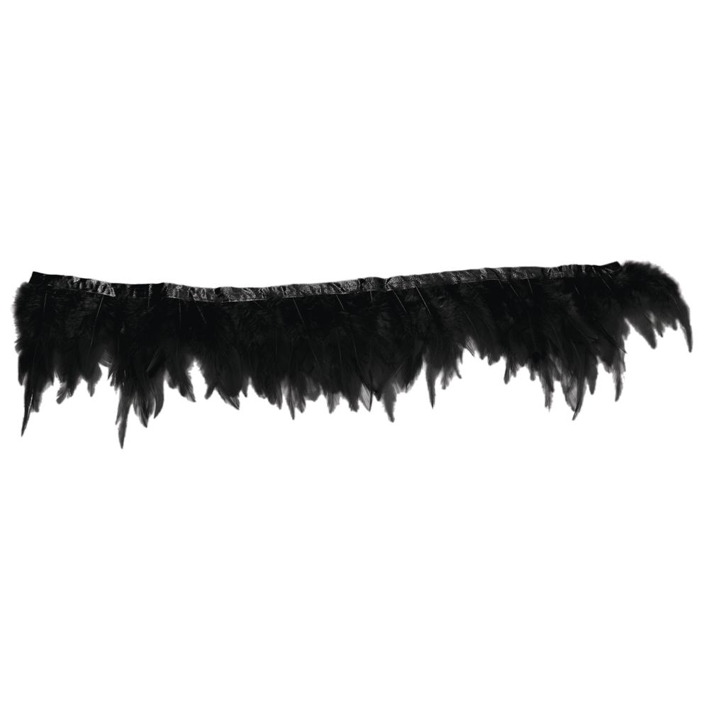 Federbordüre, SB-Btl 50cm, schwarz