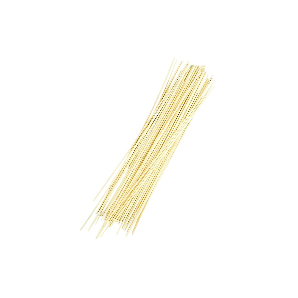 Strohhalme, gebleicht, 35cm, Beutel 50Stück
