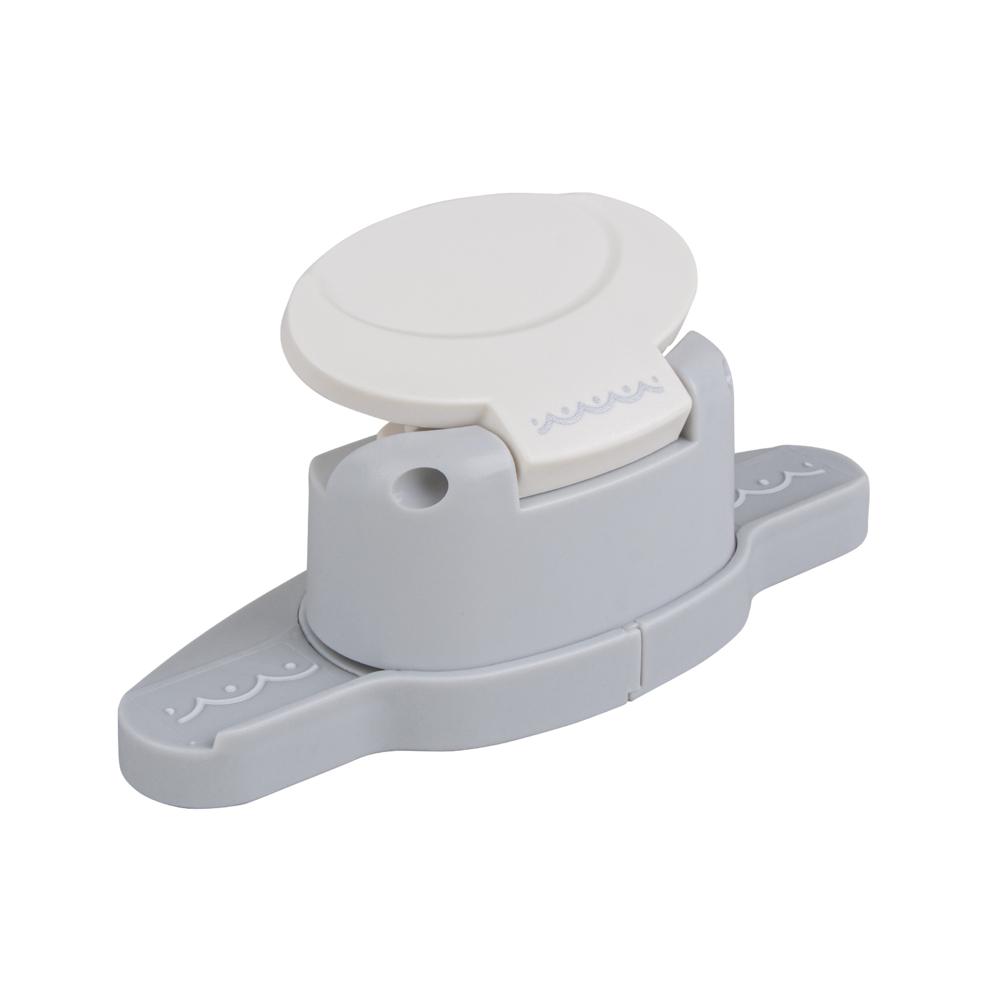 Bordüren-Stanzer - Halbkreise, 4x0,4cm, Geeignet für Karton bis 200g/m²