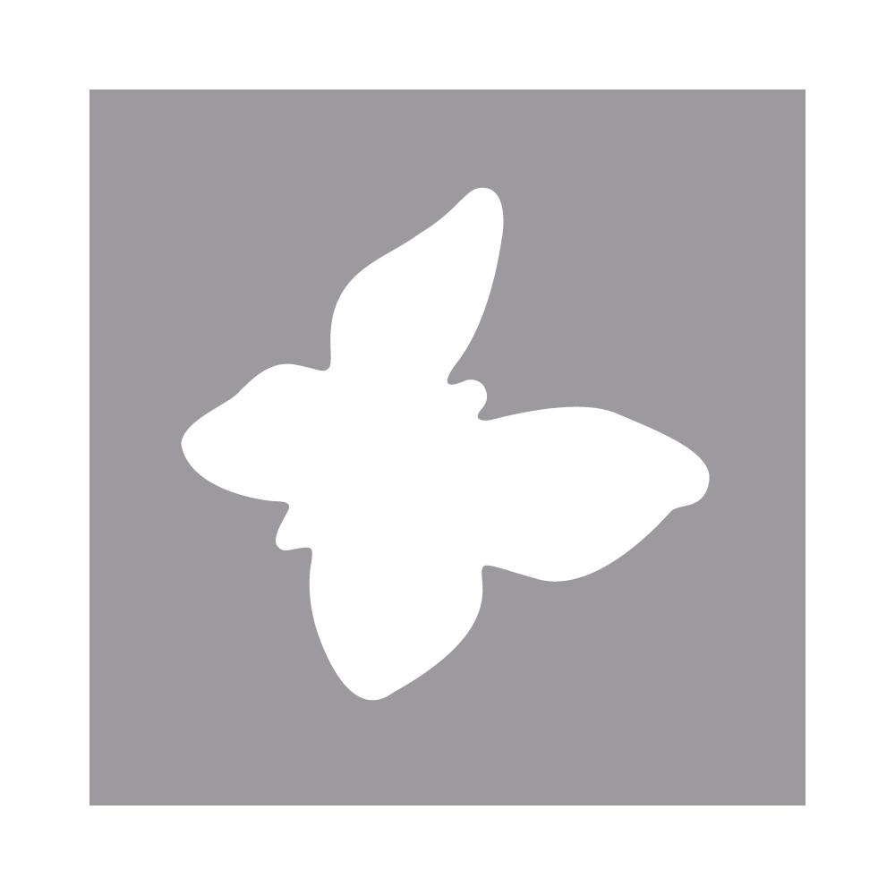 Langarm Stanzer: Schmetterling, 1,6cm ø, (5/8''), SB-Blister 1Stück