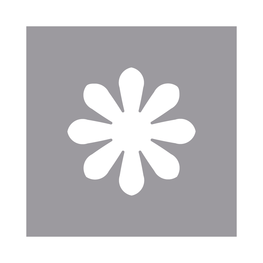 Langarm Stanzer: Blüte, 1,6cm ø, (5/8''), SB-Blister 1Stück